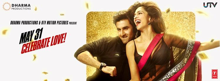 Ranbir And Deepika Cool Look In Yeh Jawaani Hai Deewani Movie Poster