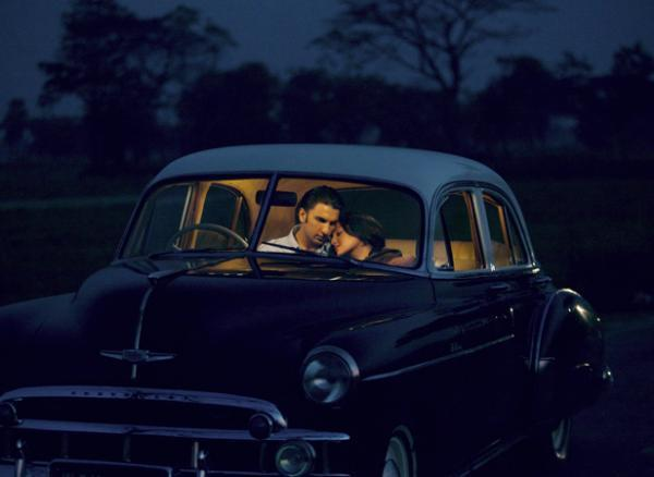 Ranveer And Sonakshi Cosy Photo Still In Car From Movie Lootera