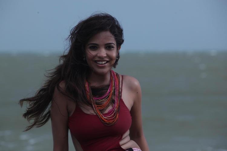 Srilekha Sizzling Look Photo Still From Movie Aravind 2
