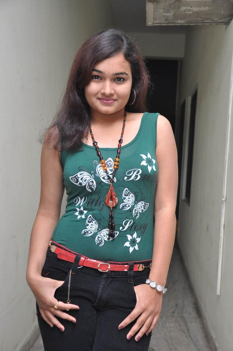 Mythili Spicy Look Photo Still At Double Trouble Movie Platinum Disc Function