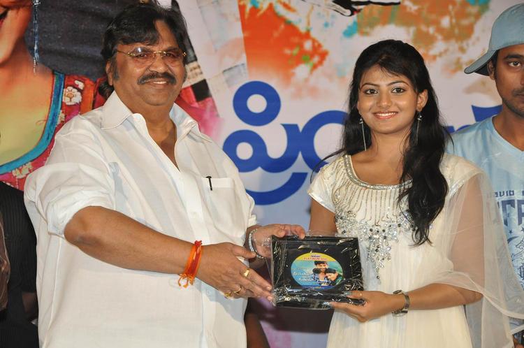 Dasari And Rakshita Snapped At PNK Movie Platinum Disc Function