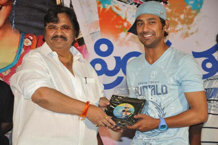Dasari And Varun Cute Smiling Photo Clicked At PNK Movie Platinum Disc Function