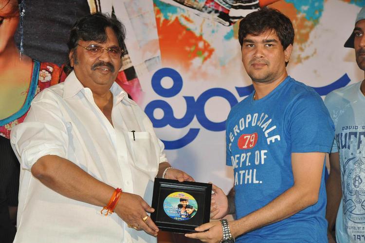 Dasari Narayana Posed For Camera At PNK Movie Platinum Disc Function