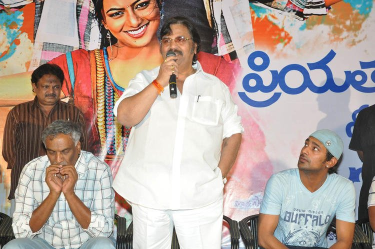 Dasari Narayana Speaks Out Photo Clicked At PNK Movie Platinum Disc Function
