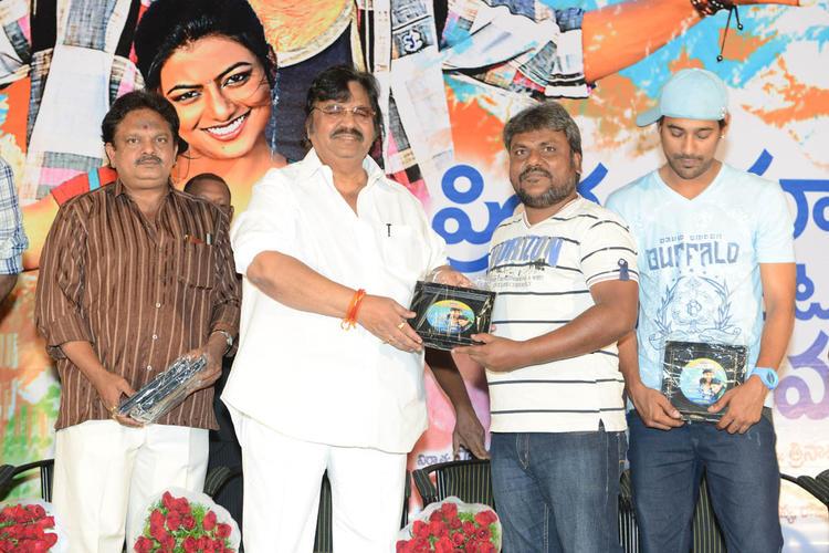 Dasari,J.Sambasiva,Trinadha And Varun Posed For Camera At PNK Movie Platinum Disc Function