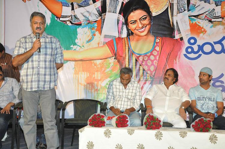 Dasari,Tammareddy And Varun On Stage At PNK Movie Platinum Disc Function