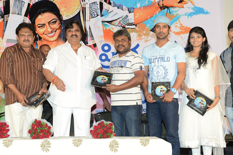 Dasari,Varun,Rakshita,J.Sambasiva And Trinadha Spotted At PNK Movie Platinum Disc Function