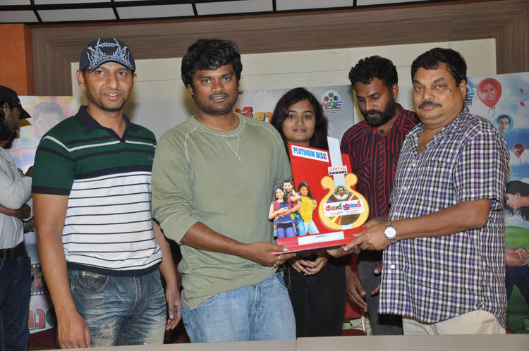 BA Raju And Mythili Graced At Double Trouble Movie Platinum Disc Function