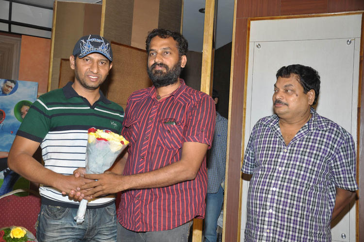 BA Raju At Double Trouble Movie Platinum Disc Function