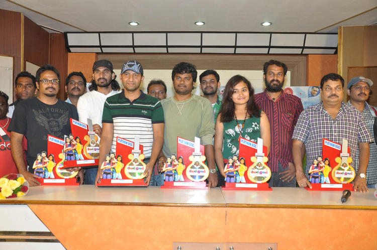 BA Raju,Mythili And Others Clicked At Double Trouble Movie Platinum Disc Function