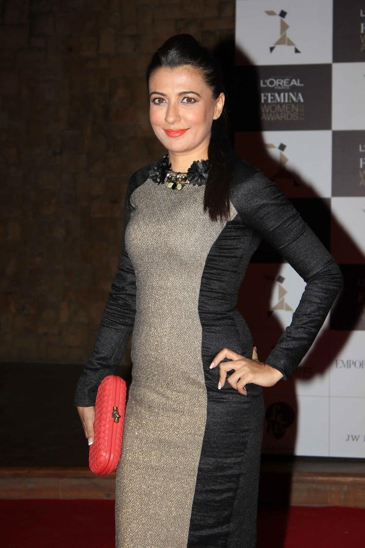 Mini Mathur Stunning Look At Loreal Femina Women Awards 2013