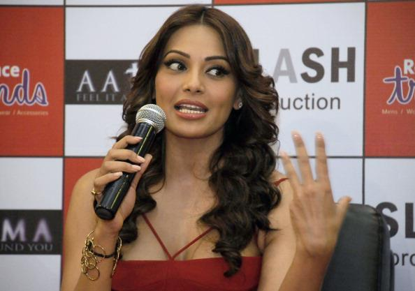 Bipasha Basu Speaks On At The Promotion Of Aatma In Ambience Mall