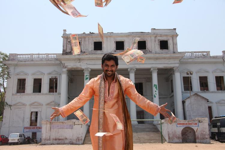 Nani A Still From Paisa Movie