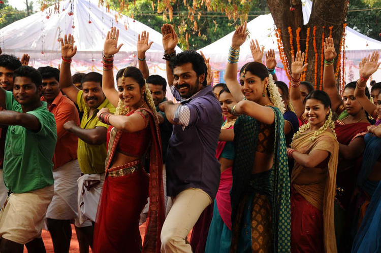 Karthi Awesome Group Dance Photo Still From Telugu Movie Bad Boy