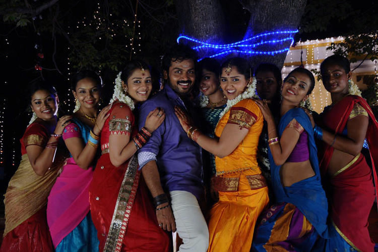 Karthi Rocking Dance Photo Still From Telugu Movie Bad Boy
