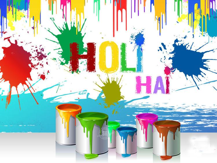 Holi Hai HD Fresh Wallpaper