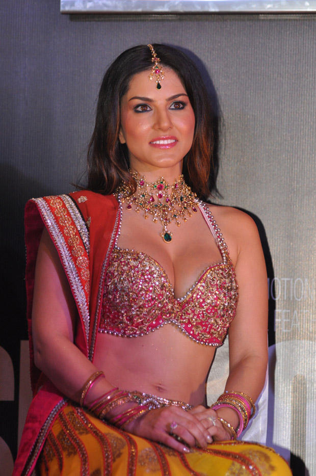 Sunny Leone During The Shootout At Wadala Promotion Event