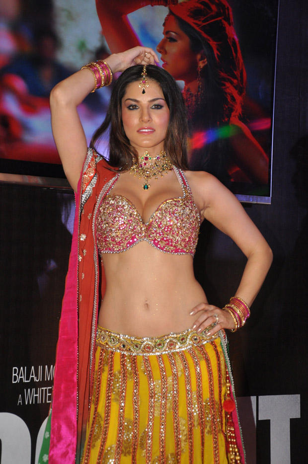 Sunny Leone Strikes A Pose At Shootout At Wadala Promotion Event