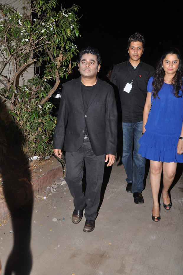 A. R. Rahman Walks On For Attend The MTV Video Music Awards 2013