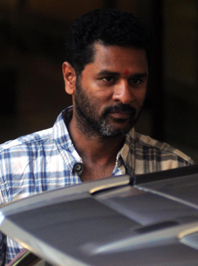 Prabhu Deva Visit To Support The Actor At Sanjay Dutt Residence