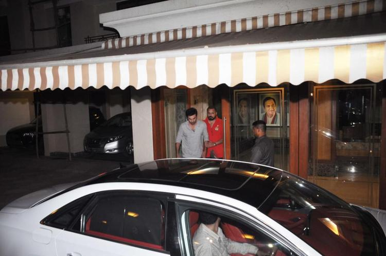Ranbir Kapoor With Bunty Walia Spotted Sanjay Dutt Residence
