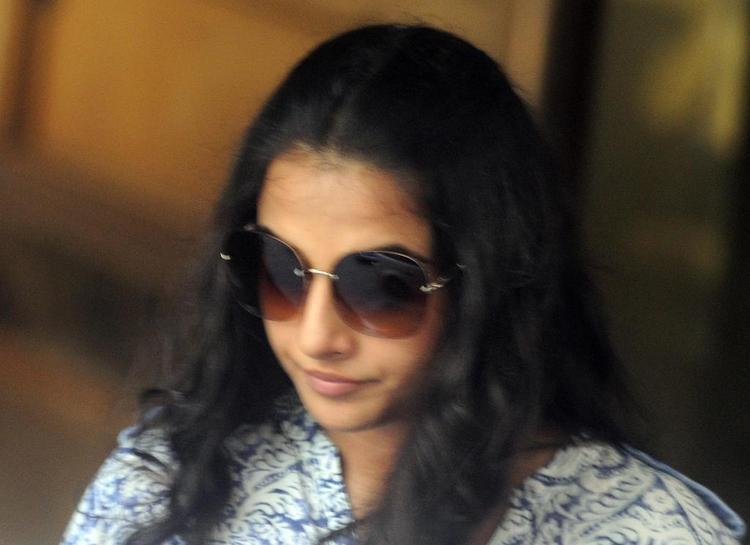 Vidya Balan At Sanjay Dutt Residence