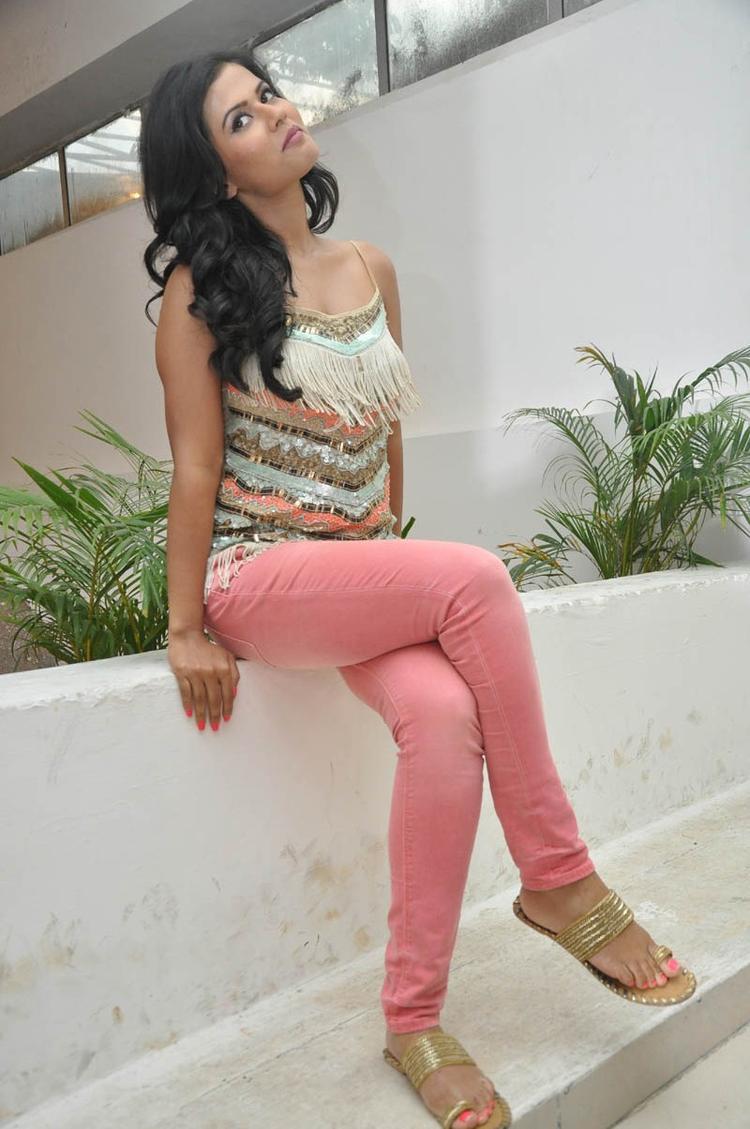 Sharmila Mandre Stylish Pose Still