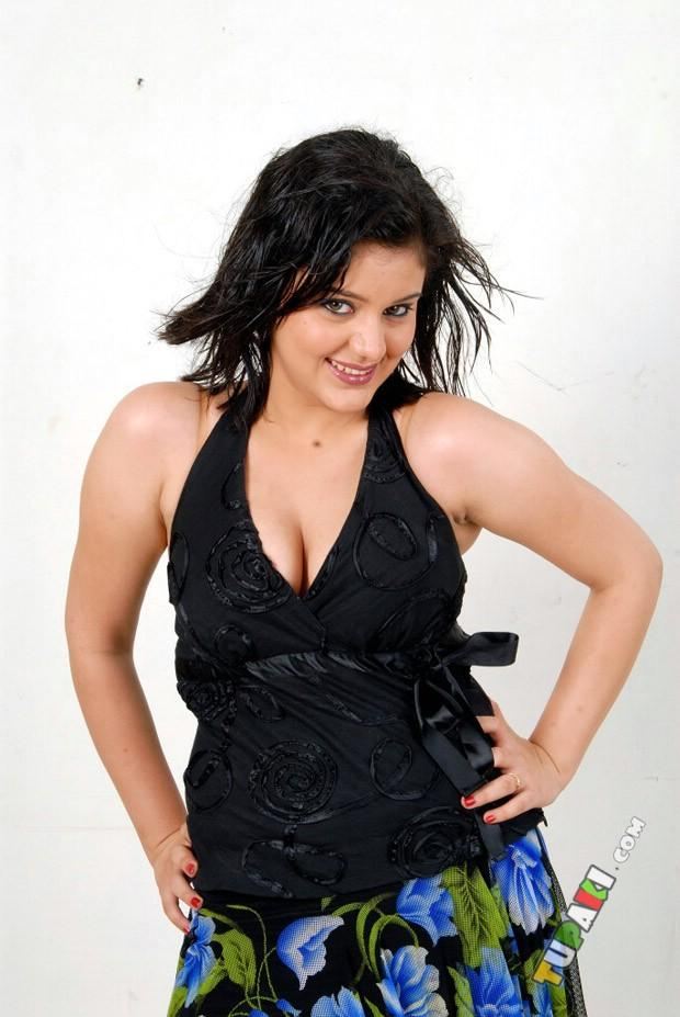 Roshitha Spicy Pose Photo Shoot In A Black Dress