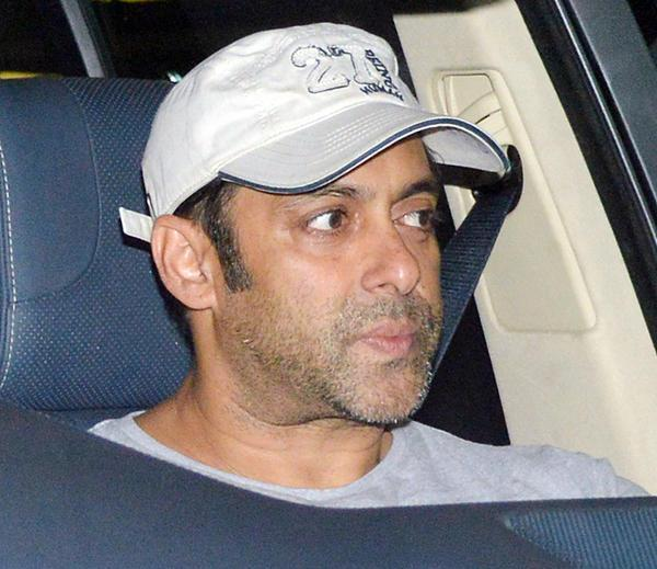 Salman Snapped In Car At Airport Returning From Medical Checkup