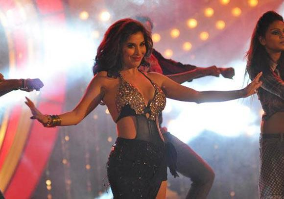 Sophie Awesome Dance Performance At Shootout at Wadala Music Launch