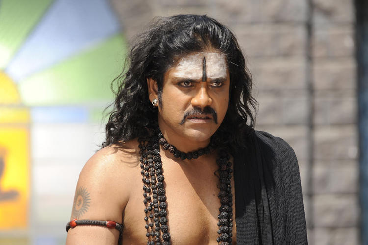 Nagarjuna Angry Look Photo Still From Movie Sri Jagadguru Adi Shankara