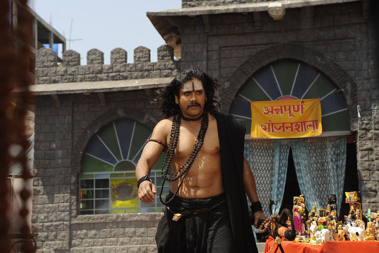 Nagarjuna Awesome Photo Still From Movie Sri Jagadguru Adi Shankara