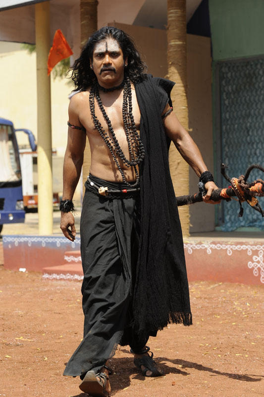 Nagarjuna Awesome Pose Photo Still From Movie Sri Jagadguru Adi Shankara