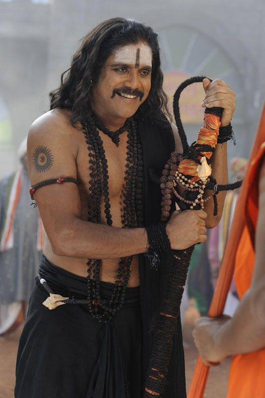 Nagarjuna Cute Smiling Photo Still From Movie Sri Jagadguru Adi Shankara