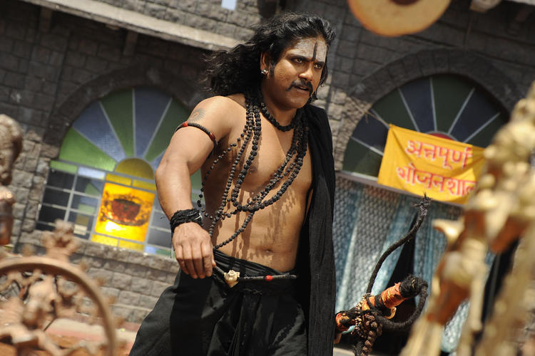 Nagarjuna Dashing Look Photo Still From Movie Sri Jagadguru Adi Shankara