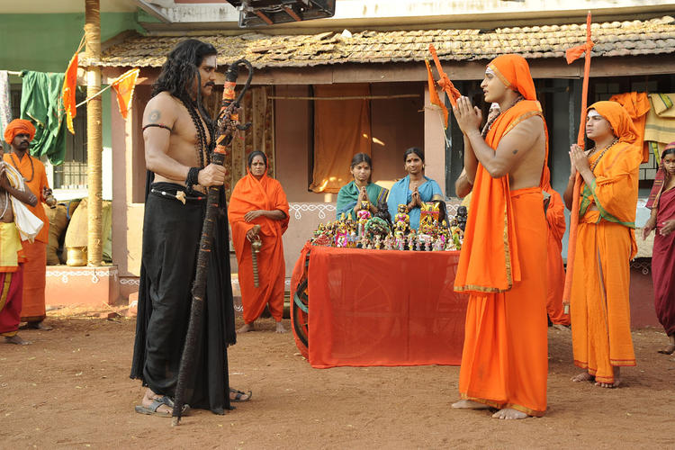 Nagarjuna Exclusive Photo Still From Movie Sri Jagadguru Adi Shankara