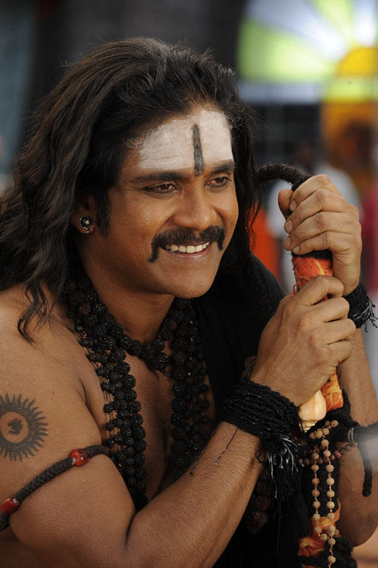 Nagarjuna Nice Smiling Photo Still From Movie Sri Jagadguru Adi Shankara
