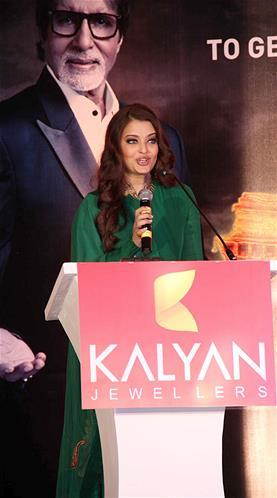 Aishwarya Make An Appearance At Kalyan Jewellers Press Conference