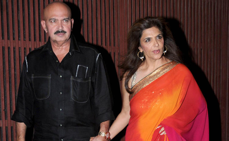 Rakesh With Wife Pinky Make An Appearance At Kangna Ranauts Birthday Bash