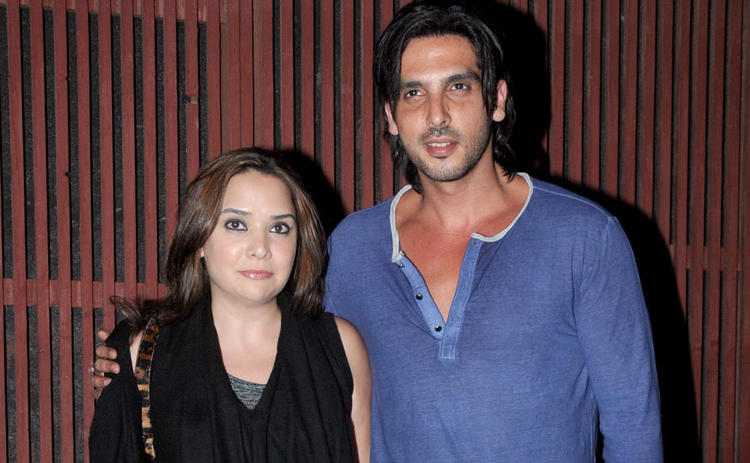Zayed With Wife Malaika Snapped At Kangna Ranauts Birthday Bash