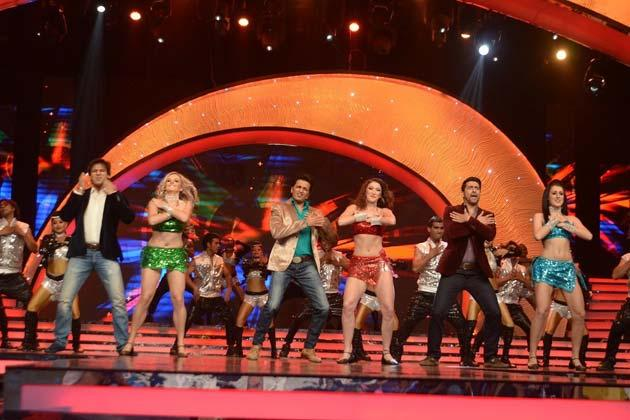 A Dance Performance At Femina Miss India Grand Finale 2013