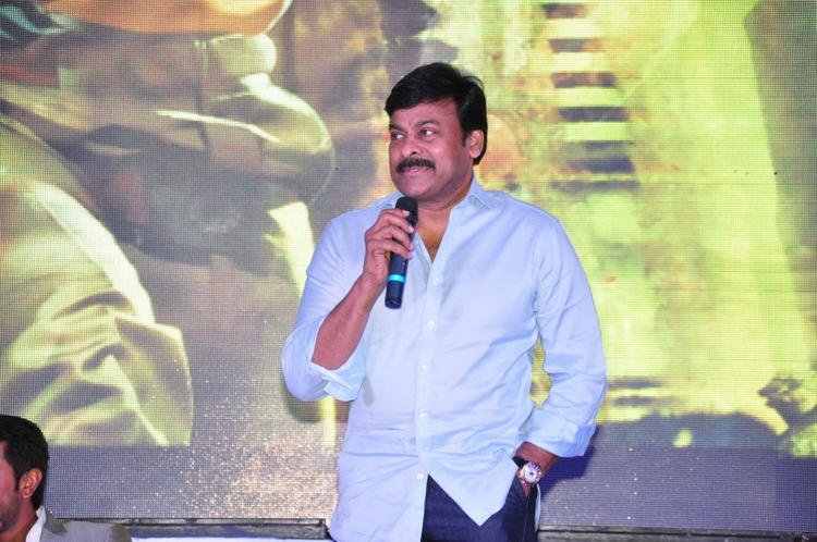 Chiranjeevi Speech Look Still At Toofan First Look Trailer Launch Event