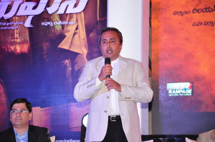 A Guest Speaking Still At Toofan First Look Trailer Launch Event