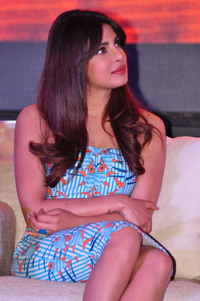 Priyanka Chopra Nice Cool Look At Toofan First Look Trailer Launch Event