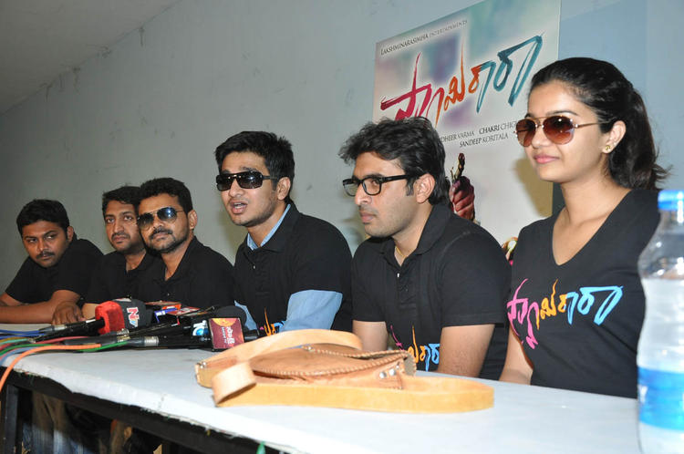 Nikhil,Sudhir And Swati Attend The Swamy Ra Ra Movie Success Meet Event