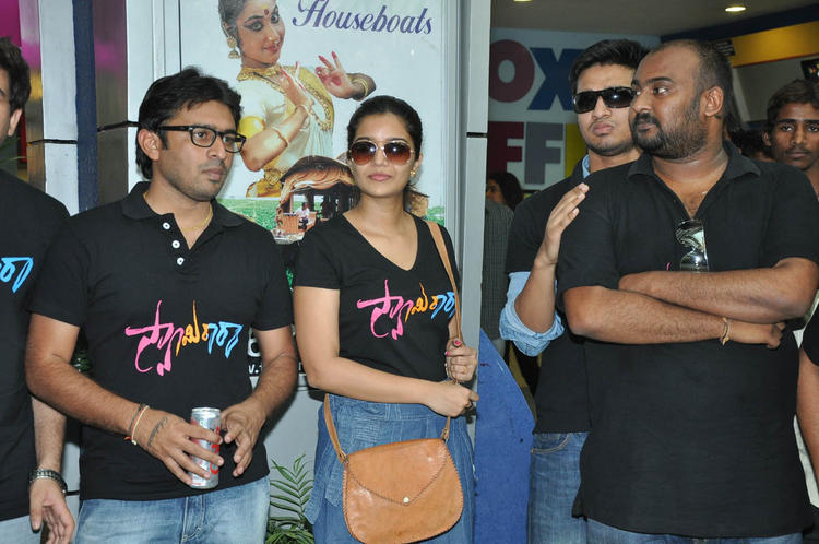 Sudhir,Swati And Nikhil Nice Look At Swamy Ra Ra Movie Success Meet Event