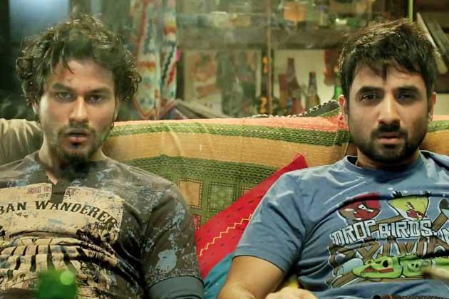 Kunal Khemu And Vir Das Nice Look Still From Go Goa Gone Movie