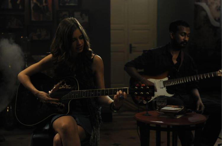 Kalki Koechlin Violin Playing Photo Still From Movie Ek Thi Daayan