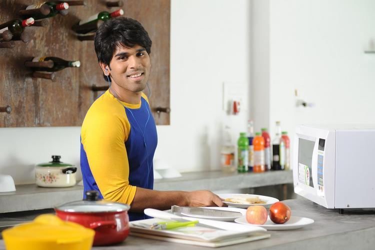 Allu Sirish Cute Smiing Photo Still From Movie Gouravam