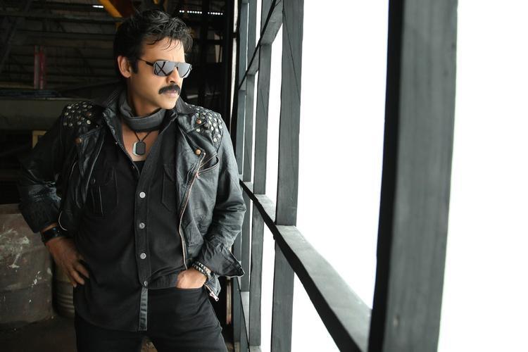 Venkatesh Stylish Look From Shadow Movie